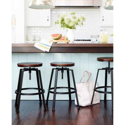 Stools Kitchen Bars And Target On Pinterest regarding kitchen bar stools target with regard to Household