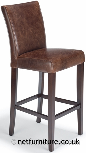 Stoolsonline Real Leather Bar Stools Bar Kitchen Counter And with regard to Brown Leather Bar Stools