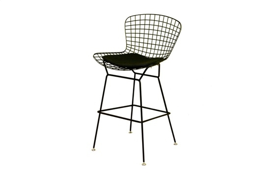 Style Silver Wire Barstool Bar Stool Modern Classic for bertoia bar stool for Household