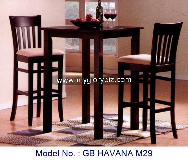 Stylish Bar Table And Stool Set 36 Inch Round Lakeland Bar Table throughout Incredible  bar stools and table set for Invigorate