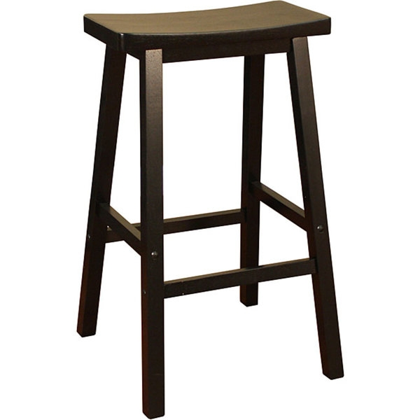 Sumatra Black 29 Inch Bar Saddle Stool 13666217 Overstock for Brilliant as well as Interesting 29 inch bar stools pertaining to  Property