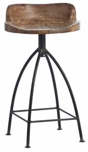 Swivel Arm 26quot 22 Counter Stool Foter in Brilliant  22 inch bar stools with regard to  Residence