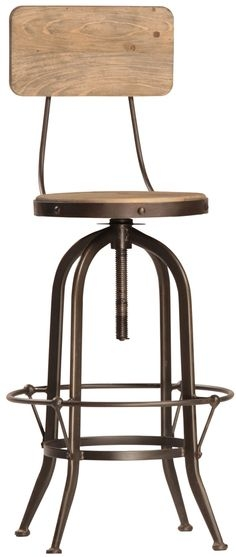 Swivel Bar Stools Bar Stools And Stools On Pinterest with regard to Adjustable Height Bar Stools