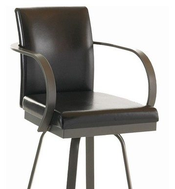 Swivel Bar Stools With Arms And Back intended for Swivel Bar Stool With Arms And Back