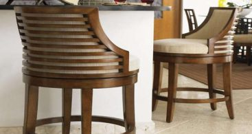 Swivel Bar Stools With Back Made Of Wood And Metal for Bar Stools With Backs That Swivel