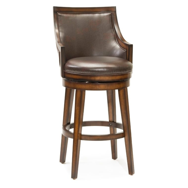 Swivel Bar Stools With Back Mainstays Metal Swivel Bar Stool 29 regarding The Awesome along with Interesting brown leather swivel bar stools for Residence