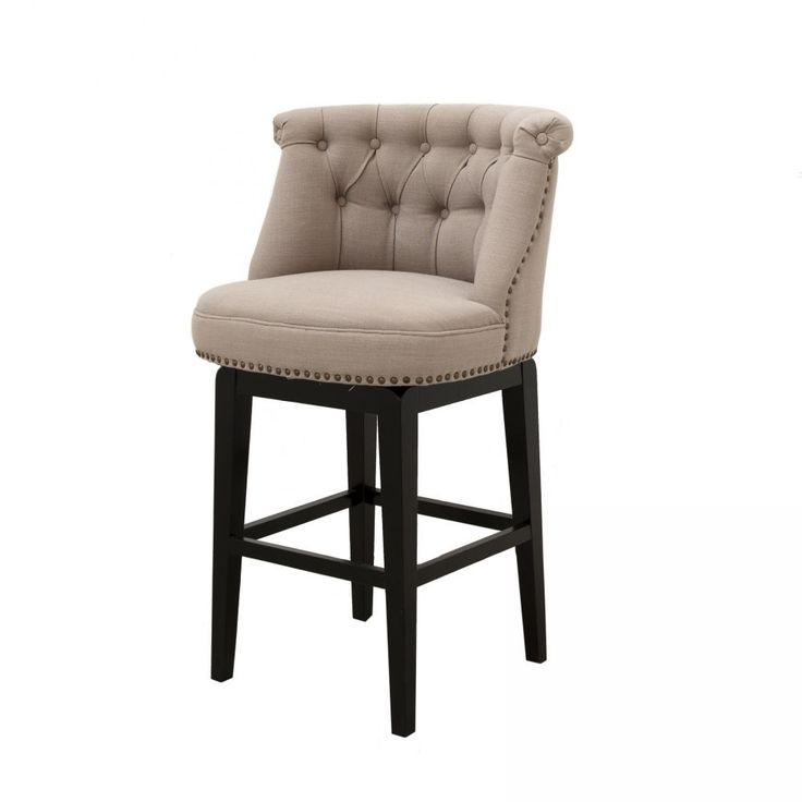 Swivel Counter Stools Counter Stools And Stools On Pinterest regarding Upholstered Bar Stools With Backs