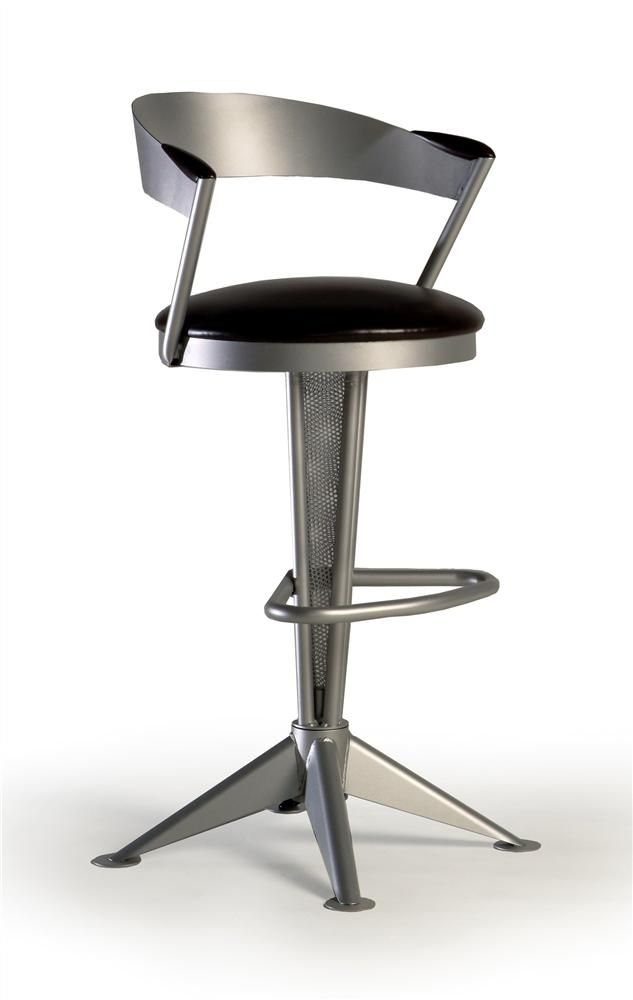 Swivel Counter Stools Metal Frames And Counter Stools On Pinterest pertaining to modern swivel bar stools pertaining to Wish