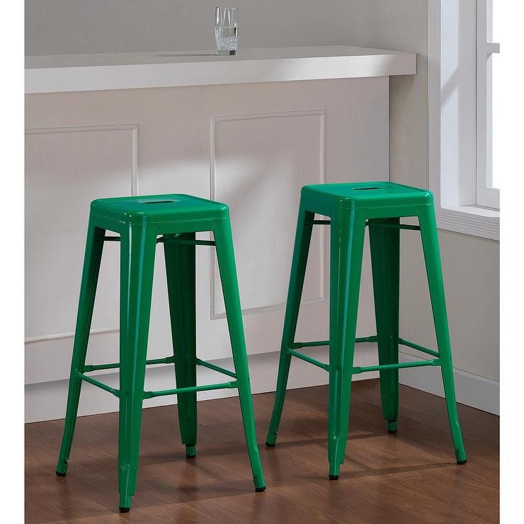 Tabouret 30 Inch Lemon Metal Bar Stools Set Of 2 Overstock with regard to bar stools overstock pertaining to Residence