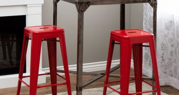 Tabouret 30 Inch Red Metal Bar Stools Set Of 2 12950057 inside The Most Elegant along with Attractive bar stool set with regard to  Property