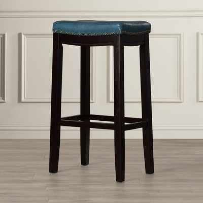 Three Posts Russett 32quot Bar Stool Amp Reviews Wayfair in The Most Amazing and Lovely 32 bar stools regarding Motivate
