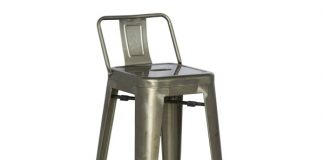 Tolix Bar Stool With Back with regard to Elegant  tolix bar stool pertaining to  Household