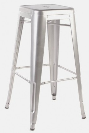 Tolix Bar Stools Foter pertaining to galvanized bar stools for Motivate