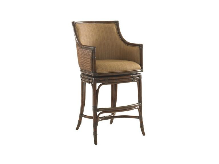 Tommy Bahama Home Bar And Game Room Oceana Swivel Counter Stool in Tommy Bahama Bar Stools