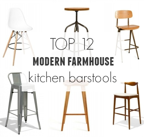Top 12 Modern Farmhouse Barstools City Farmhouse intended for Incredible  farmhouse bar stools regarding Really encourage