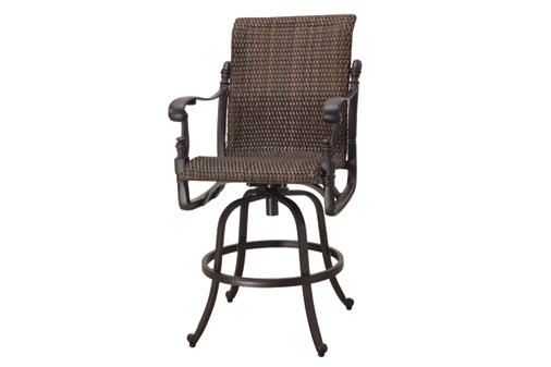 Top Outdoor Bar Chairs Swivel With Swivel Bar Stool Image 2 Of 21 within outdoor swivel bar stools pertaining to Inviting