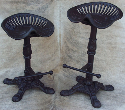 Tractor Seat Counter Barstools Furniture Accessories regarding Tractor Seat Bar Stools