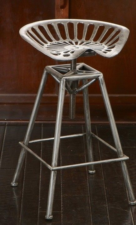 Tractor Seats Tractors And Tractor Seat Bar Stools On Pinterest in Awesome  metal outdoor bar stools regarding Motivate