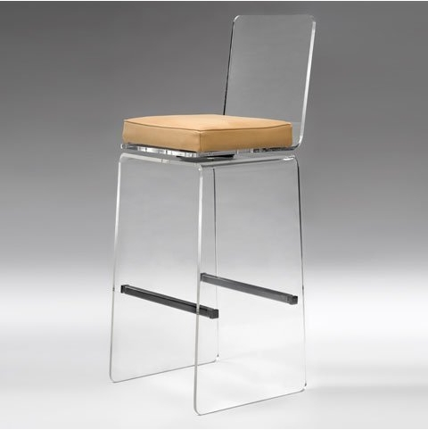 Transparent Acrylic Bar Stool Transparent Acrylic Bar Stool inside The Brilliant and Attractive lucite bar stool with regard to Encourage