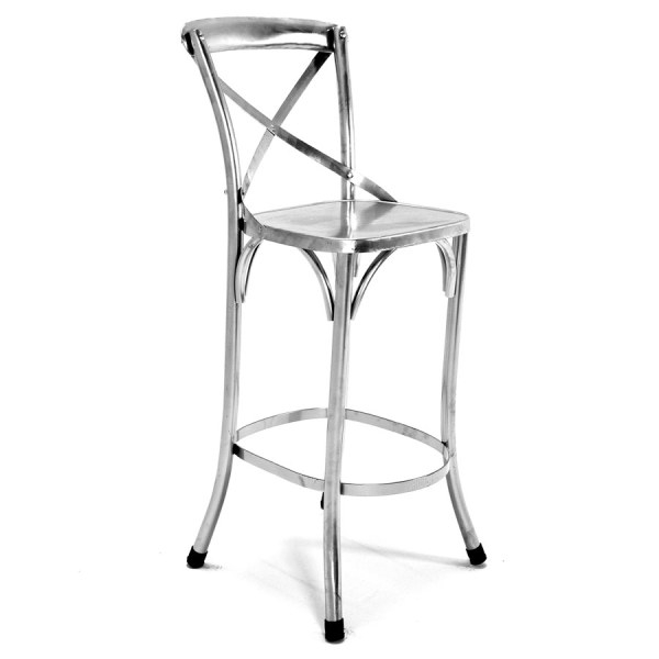 Tribeca Barstool 30quot within Silver Bar Stools
