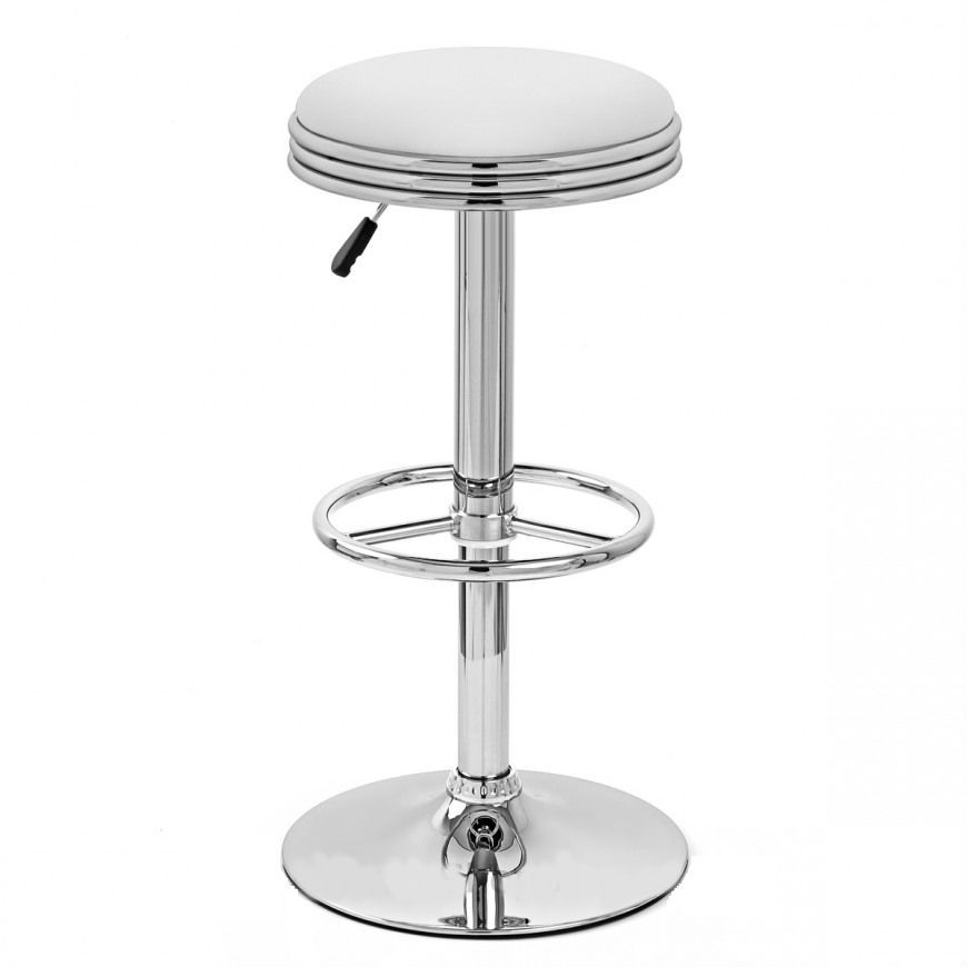 Ttf R 127 Retro Chrome Bar Stool 2 1332 P for Stylish  chrome bar stool with regard to Your property