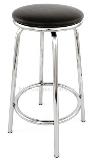 Ttf R 137 Chrome Bar Stool pertaining to Stylish  chrome bar stool with regard to Your property