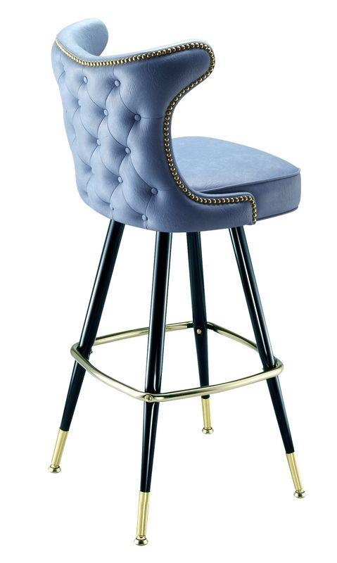 Tufted Bar Stools Tufted Swivel Stools throughout Amazing  tufted bar stool for House