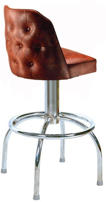 Tufted Bucket Bar Stool Tufted Bucket Stools Swivel Bucket Bar with Tufted Bar Stool