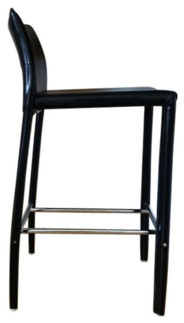Two Black Leather Bar Stools 180 On Chairish regarding Amazing in addition to Interesting black leather bar stools intended for The house
