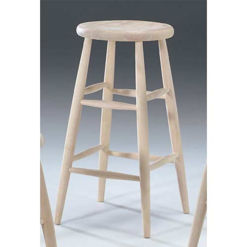 Unfinished Bar Stool Bar Stools European Beech Wood Construction in The Most Amazing  unfinished wooden bar stools regarding  Property