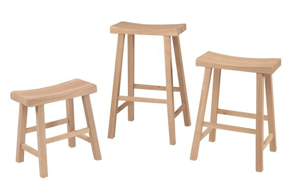 Unfinished Furniture Highland Woodcraft Of Hickory Nc with regard to Unfinished Wood Bar Stools