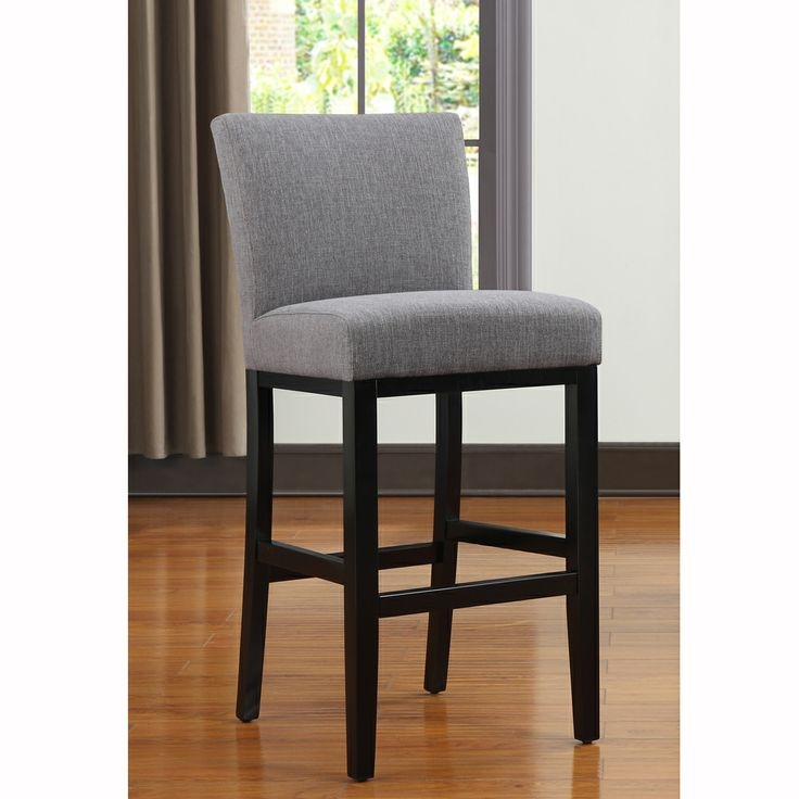 Upholstered Bar Stools Charcoal Gray And Bar Stools On Pinterest with regard to Brilliant  22 inch bar stools with regard to  Residence