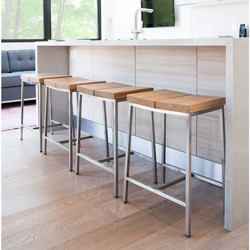 Upholstered Counter Height Bar Stools Julian Miles inside Counter Height Bar Stool