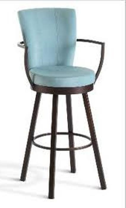 Upholstered Swivel Bar Stools With Arms Swivel Bar Stools in swivel bar stool with arms with regard to Home