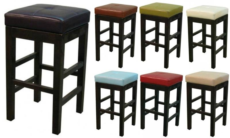 Valencia Square Leather Bar Stool pertaining to The Most Stylish and also Lovely square bar stools regarding Provide House