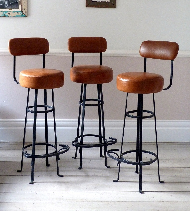 Vintage Bar Stools Bar Stools And Bar Stools With Backs On Pinterest with Vintage Bar Stool