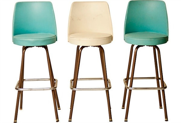 Vintage Bar Stools Hello Foxy in Vintage Bar Stool