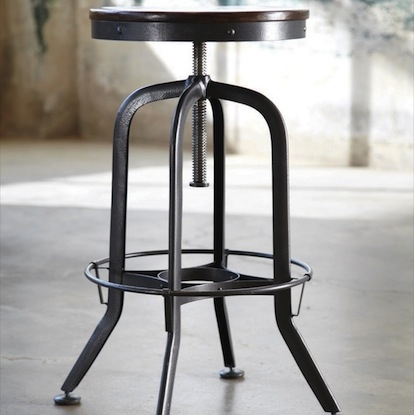 Vintage Industrial Barstool Look 4 Less And Steals And Deals pertaining to Awesome and Gorgeous vintage bar stool for The house