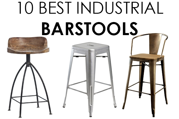 Vintage Industrial Barstools 10 Best For Farmhouse Style in Industrial Bar Stools