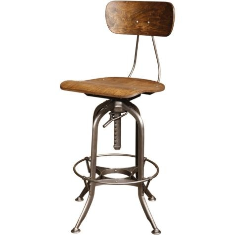 Vintage Industrial Toledo Bar Stool Original And Made In Usa Get throughout Toledo Bar Stool