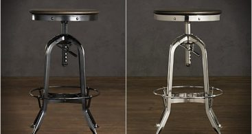 Vintage Toledo Barstool within Vintage Bar Stool