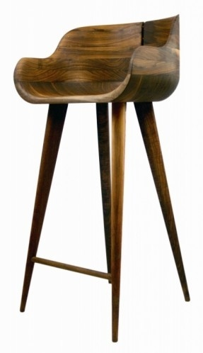 Walnut Barstools Foter within Walnut Bar Stools