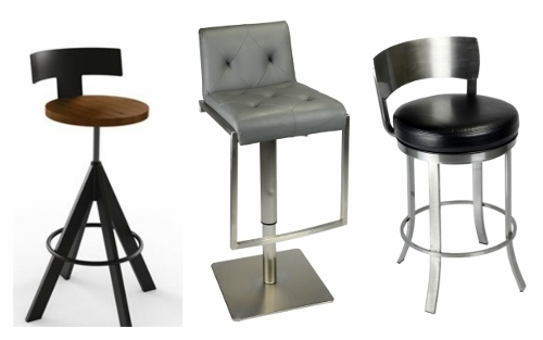 What39s Trending In Kitchen Stools The Mini Back Stool pertaining to low back swivel bar stools intended for Residence
