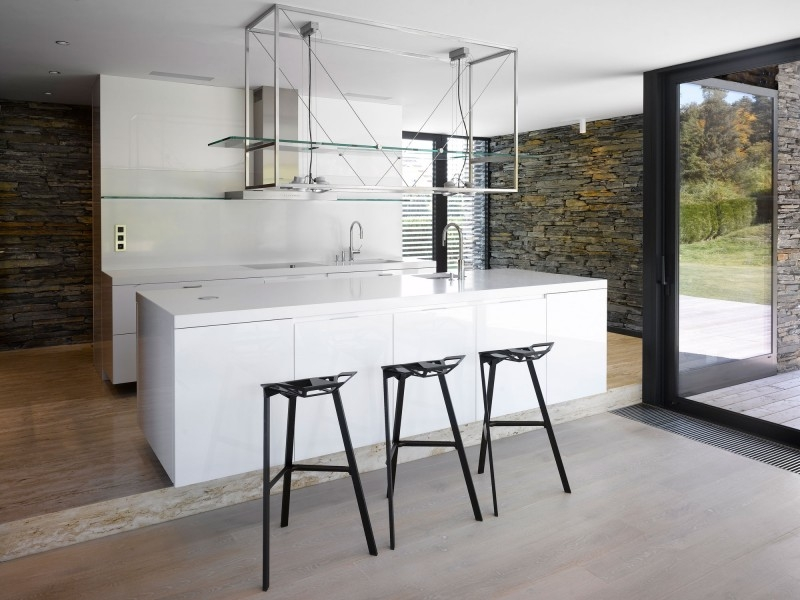 White Kitchen Island With Breakfast Bar Photo 9 Greek Roman Coins in metal breakfast bar stools pertaining to Property