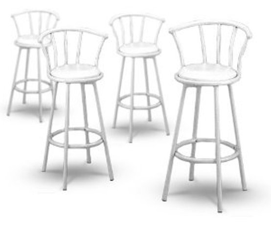 White Swivel Bar Stools With Back Swivel Bar Stools Stools in White Swivel Bar Stools With Back