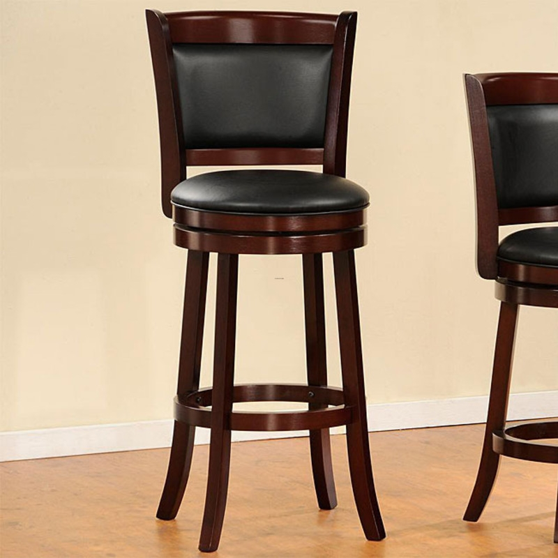 Why You Need Bar Stools With Backs For Your Kitchen regarding Brilliant  leather swivel bar stools with back for Provide Household