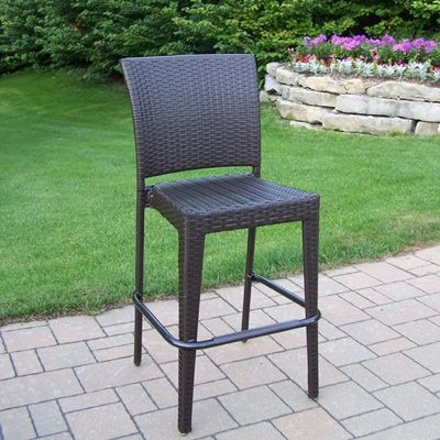 Wicker Bar Stools Bar Stools And Outdoor Living Patios On Pinterest pertaining to Outdoor Bar Stools Clearance