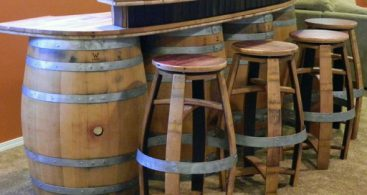Wildgrain Woodworking Categories Bar Stools intended for Elegant  wine barrel bar stools with regard to Really encourage