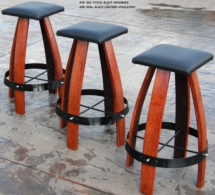 Wine Barrel Bar Stools Wine Barrels And Wine Barrel Bar On Pinterest for Elegant  wine barrel bar stools with regard to Really encourage