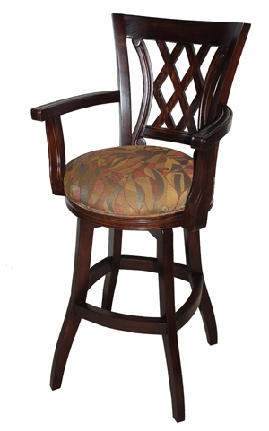 Wood Amp Wooden Swivel Bar Stools throughout counter height swivel bar stools with arms with regard to Your house